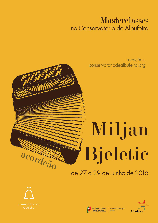 Masterclass com Miljan Bjeletic