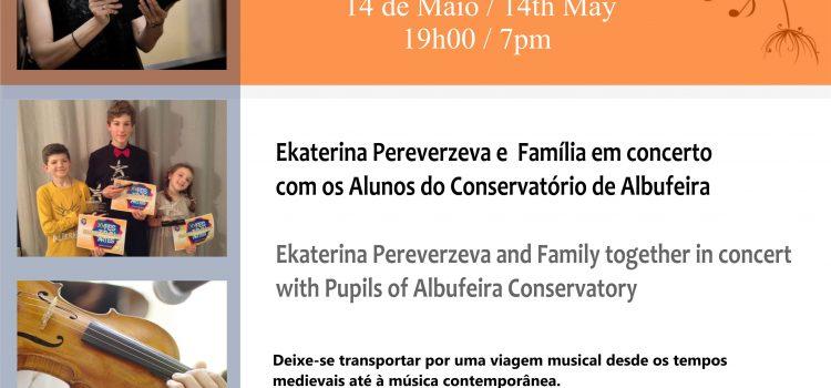 Viver com a Música – Prof.ª Ekaterina Pereverzeva