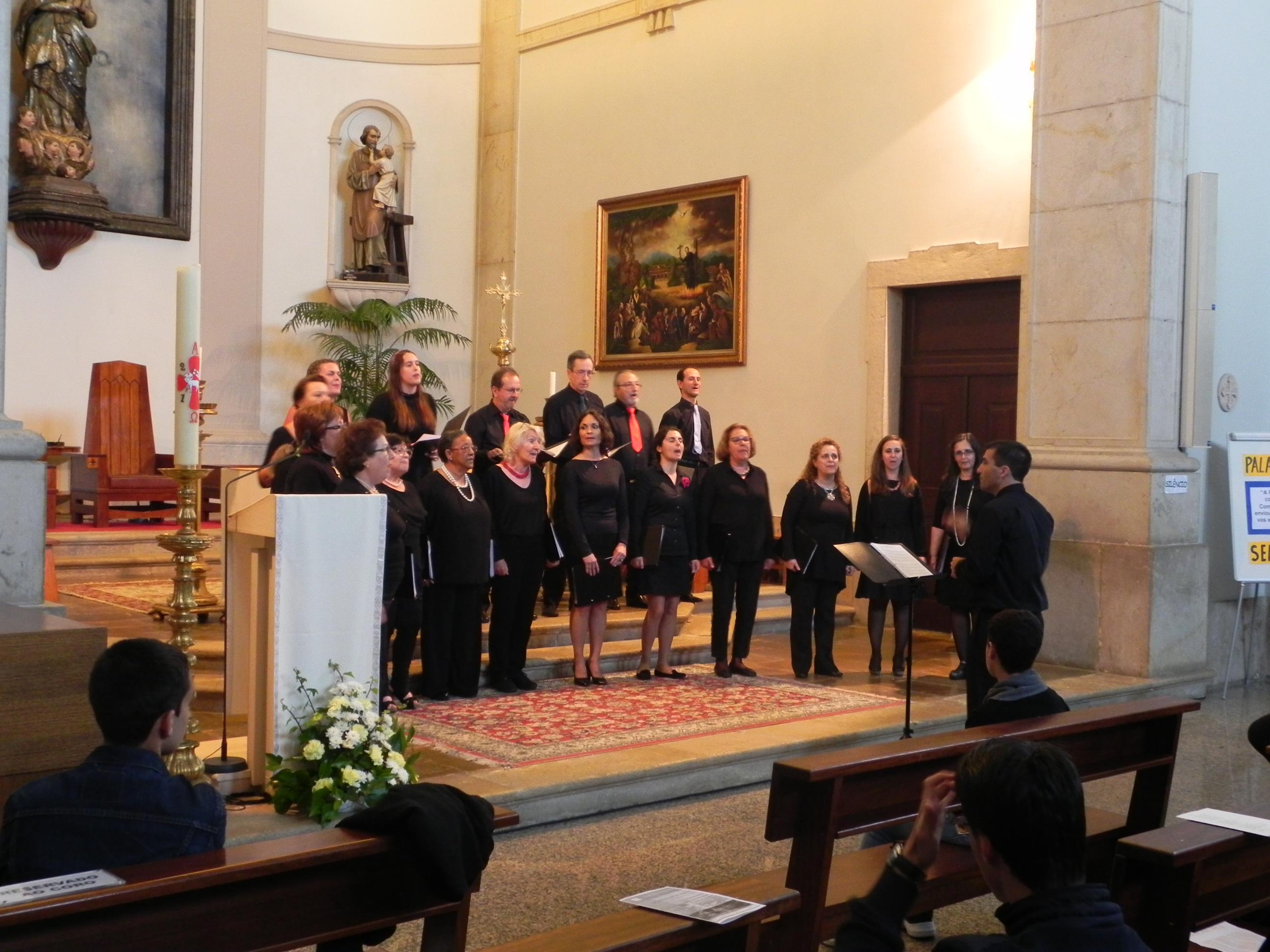 Encontro de Coros 30 de abril na Igreja Matriz