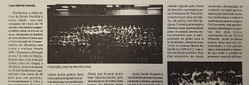 Intercâmbio com o Coro da Escola Moiratis de Atenas