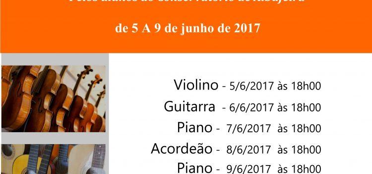 Ciclo de Audições de Verão_Final de Ano Letivo 2016/2017