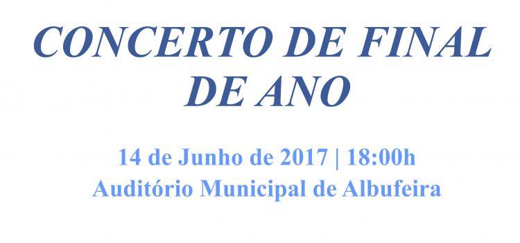 Concerto de Encerramento Letivo 2016-2017